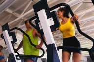 Active Adults on Treadmill