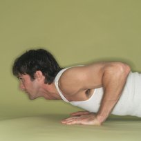 male pushups